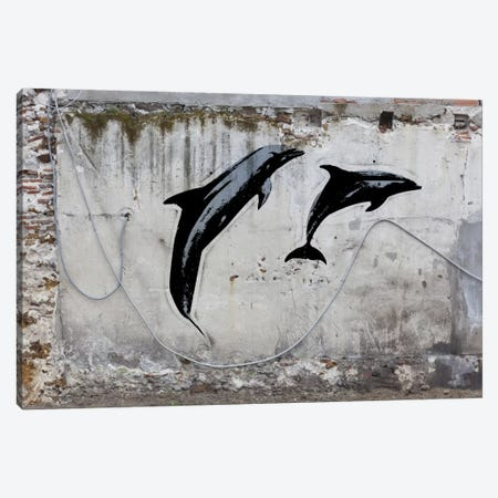 New Sea World Canvas Print #ICA480} by 5by5collective Canvas Wall Art