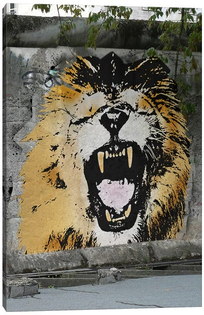 Hear My Lion Roar Canvas Art Print