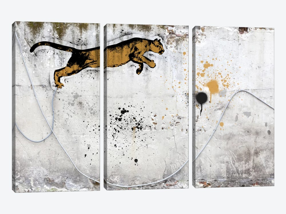 Leap of Faith by 5by5collective 3-piece Canvas Artwork