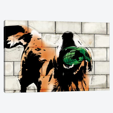 Fetch! Canvas Print #ICA494} by 5by5collective Canvas Wall Art