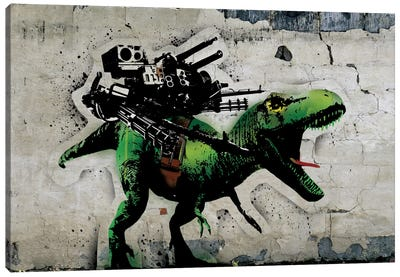 Ultimate Weapon Canvas Print #ICA504
