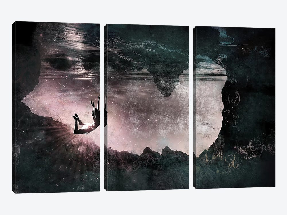 Obeisance by 5by5collective 3-piece Art Print
