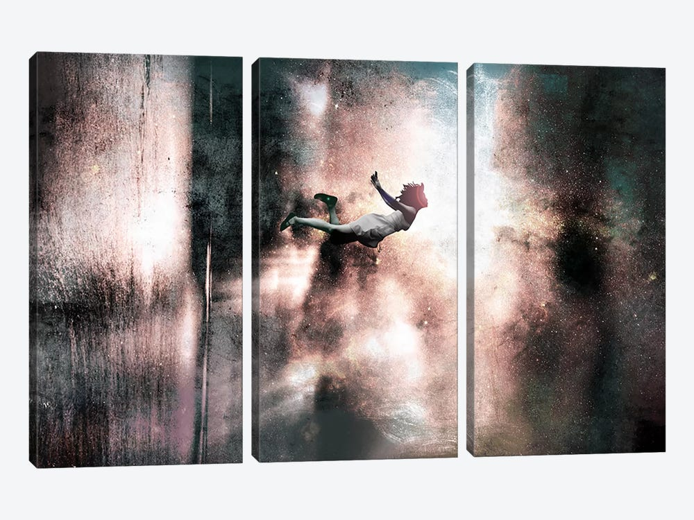 Falling Up by 5by5collective 3-piece Canvas Wall Art