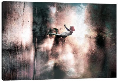 Falling Up Canvas Art Print