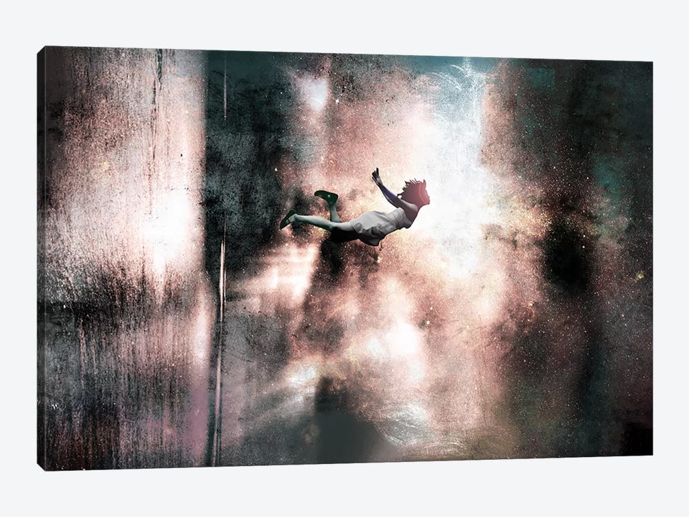 Falling Up by 5by5collective 1-piece Canvas Wall Art