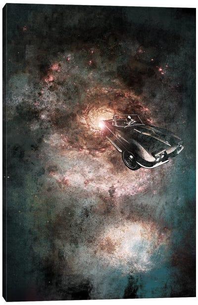 Galaxy Rider Canvas Art Print