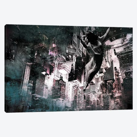 Angel of Manhattan Canvas Print #ICA513} by 5by5collective Canvas Art