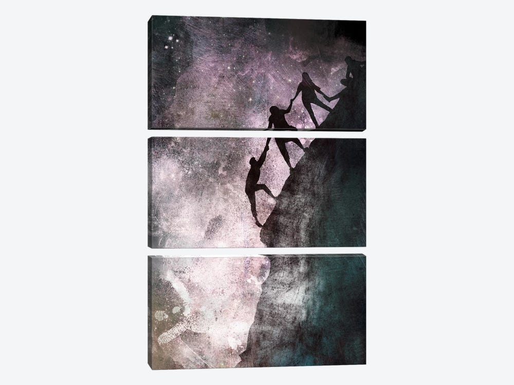 Ties That Bind by 5by5collective 3-piece Canvas Wall Art