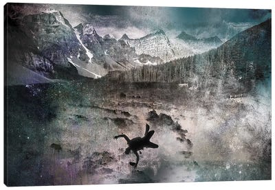 Into the Abyss Canvas Art Print
