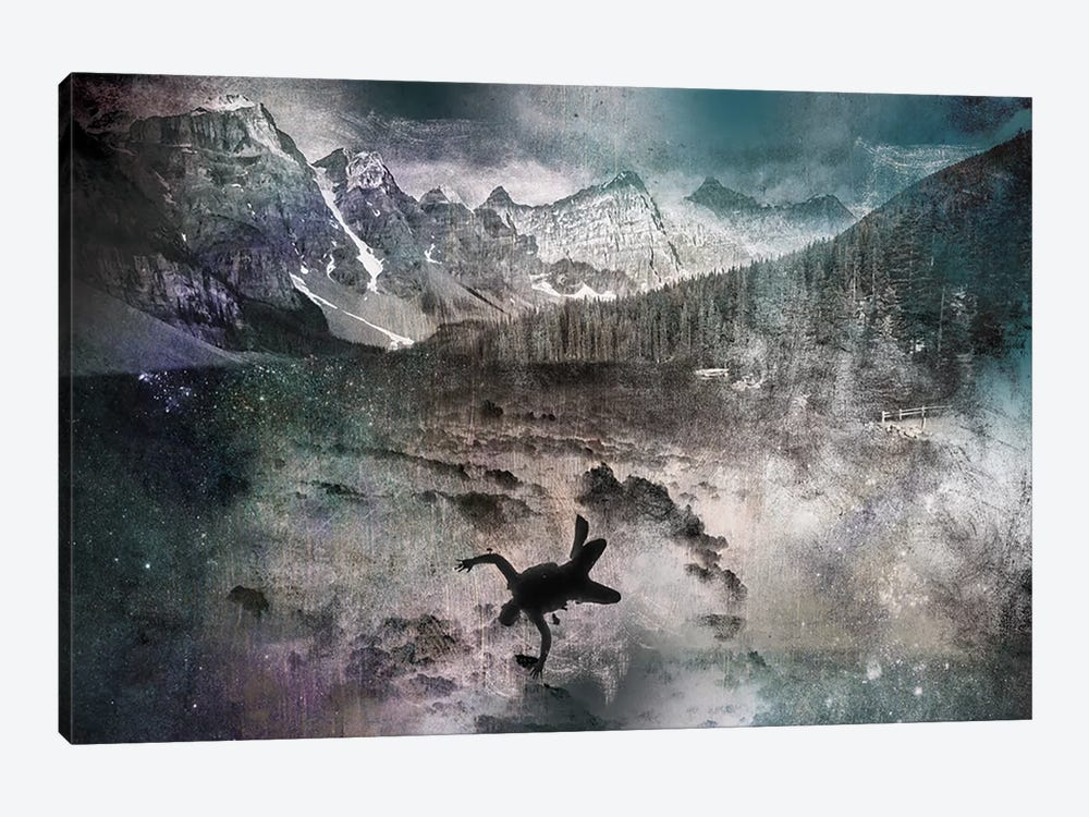 Into the Abyss by 5by5collective 1-piece Canvas Art Print