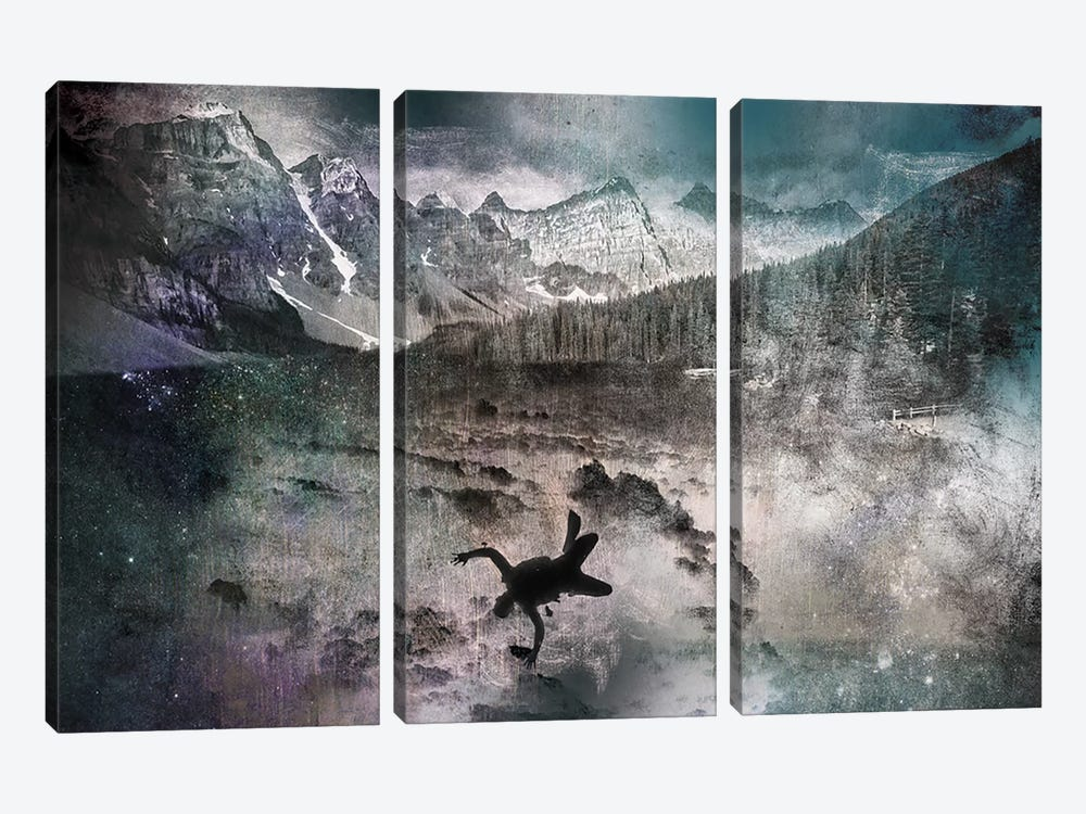 Into the Abyss by 5by5collective 3-piece Art Print