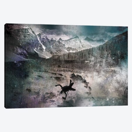 Into the Abyss Canvas Print #ICA518} by 5by5collective Canvas Wall Art