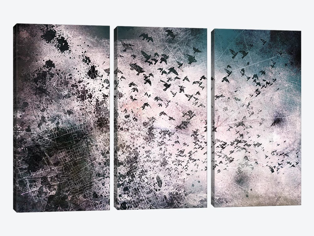 In Search of Life by 5by5collective 3-piece Canvas Art