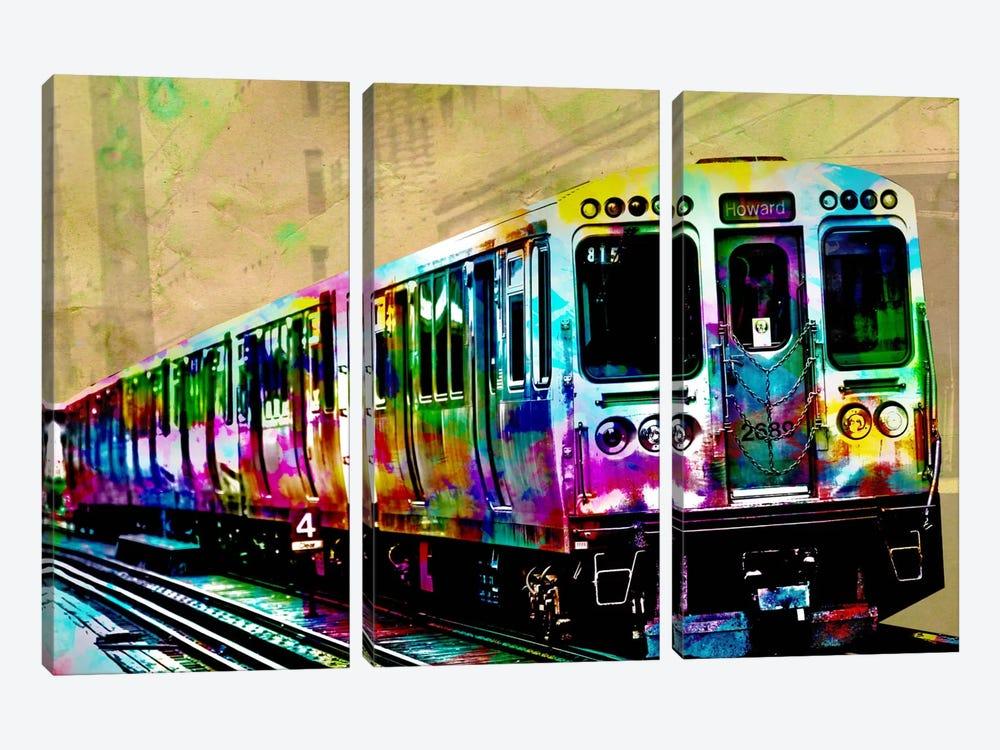 Pop El by Unknown Artist 3-piece Canvas Art