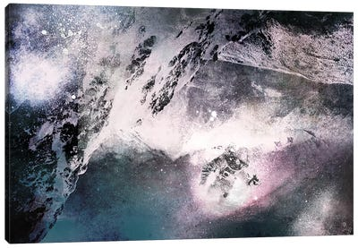 The Explorer Canvas Art Print