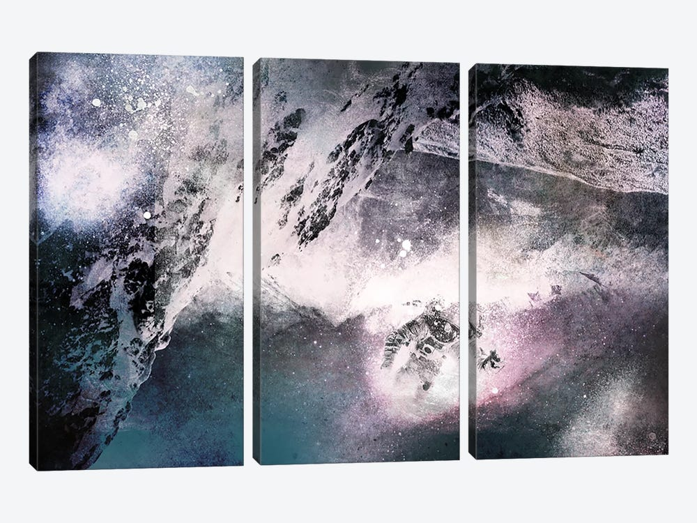 The Explorer by 5by5collective 3-piece Canvas Wall Art