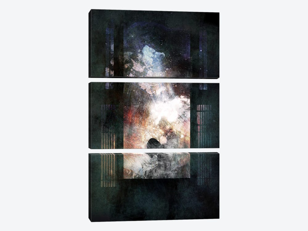 Discarded by 5by5collective 3-piece Canvas Art Print