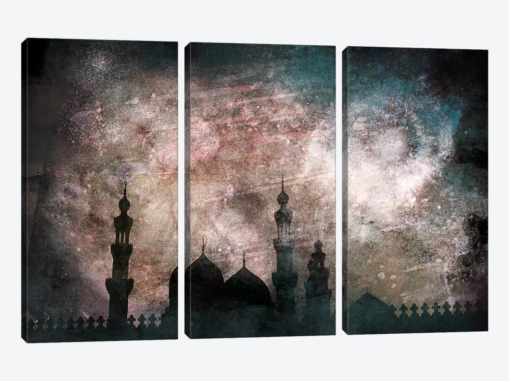 Faith by 5by5collective 3-piece Canvas Art Print