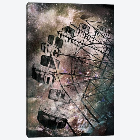 The Giant Wheel Canvas Print #ICA524} by 5by5collective Canvas Art