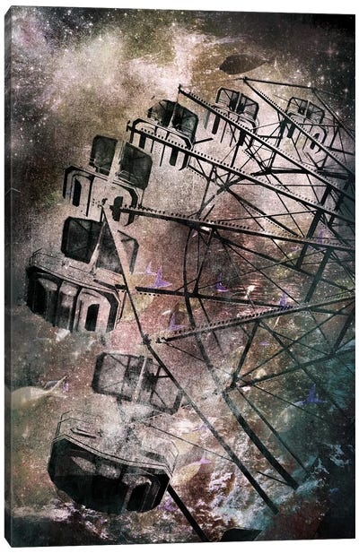 The Giant Wheel Canvas Art Print