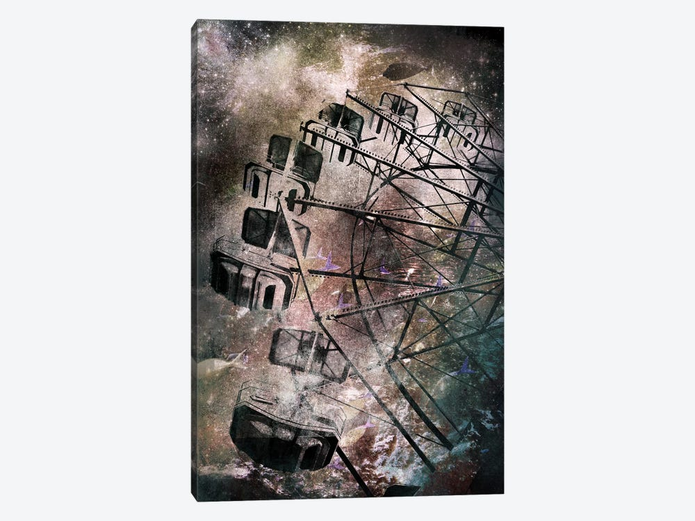 The Giant Wheel by 5by5collective 1-piece Canvas Art