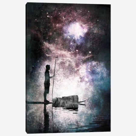 The Watcher Canvas Print #ICA525} by 5by5collective Canvas Art