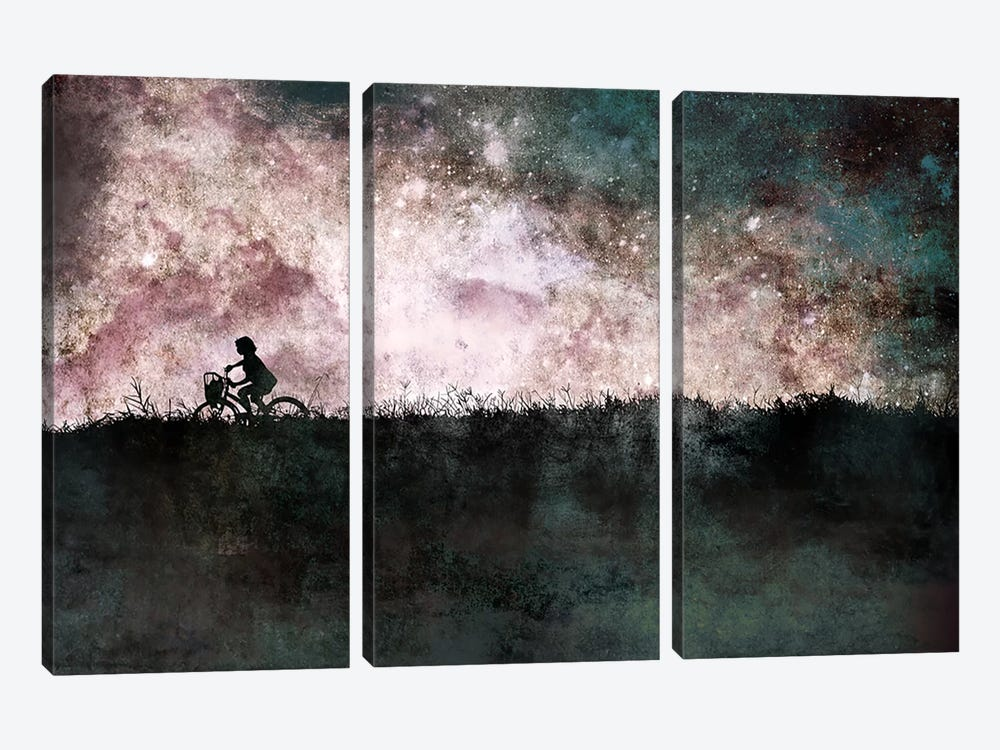 Starlight by 5by5collective 3-piece Canvas Artwork