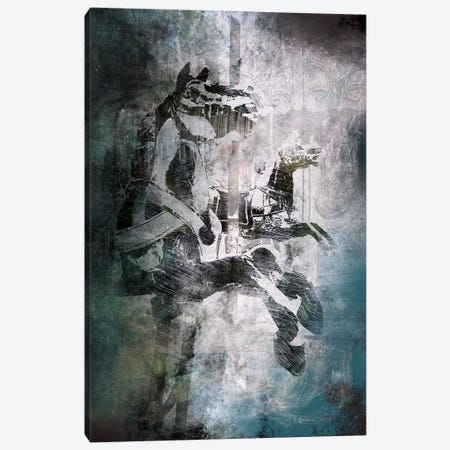 Marching On Canvas Print #ICA528} by 5by5collective Canvas Art Print
