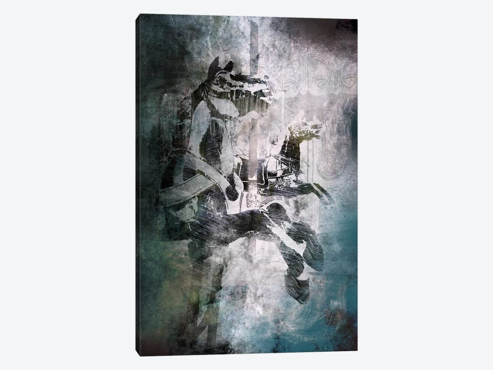 Marching On by 5by5collective 1-piece Canvas Wall Art