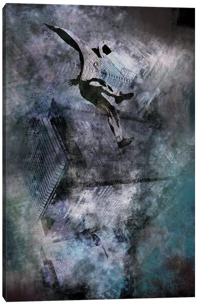 Free-Falling Canvas Art Print