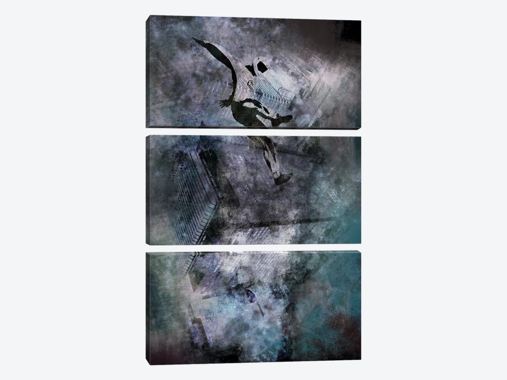 Free-Falling by 5by5collective 3-piece Canvas Print