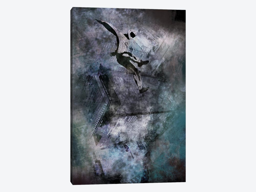 Free-Falling by 5by5collective 1-piece Canvas Print