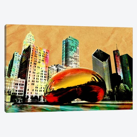 Burning Bean Canvas Print #ICA52} by Unknown Artist Canvas Art