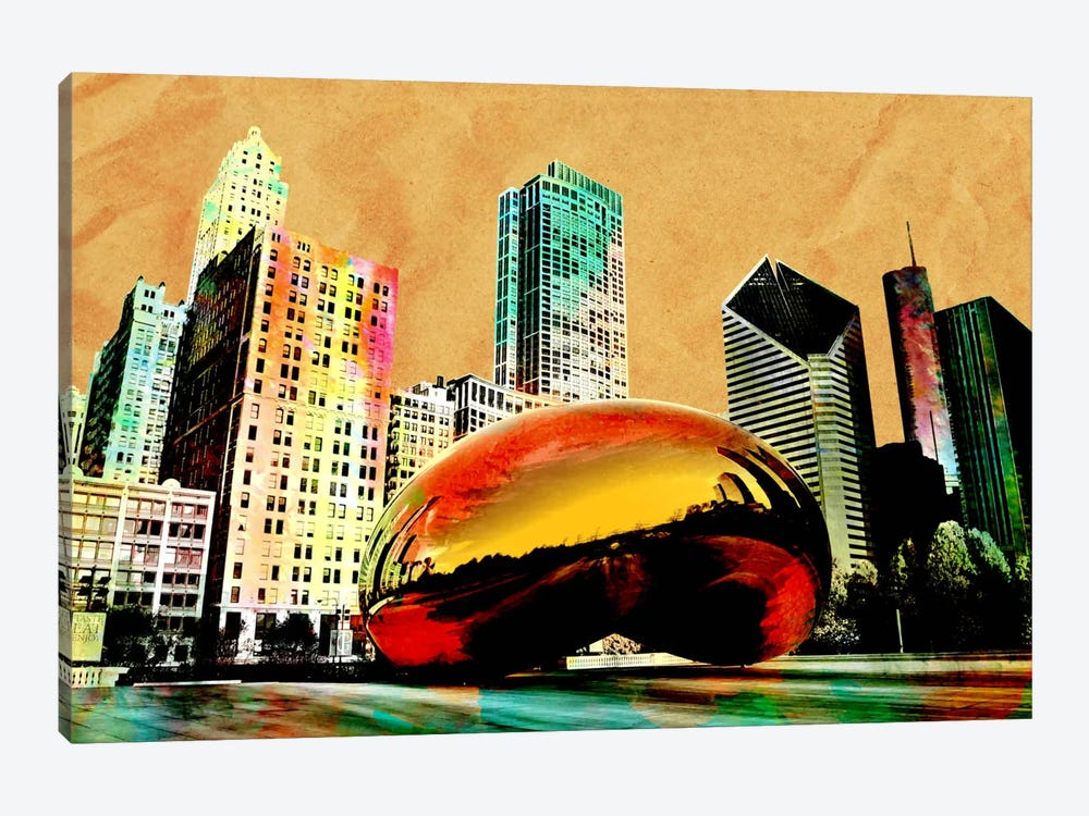 Burning Bean by iCanvas 1-piece Canvas Print
