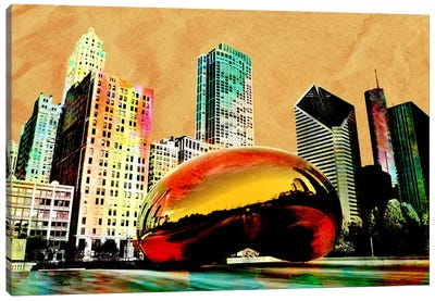 Burning Bean Canvas Art Print