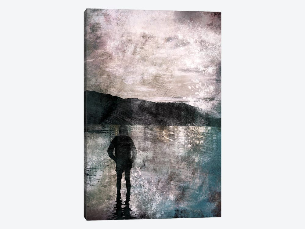 Reflections by 5by5collective 1-piece Canvas Art Print