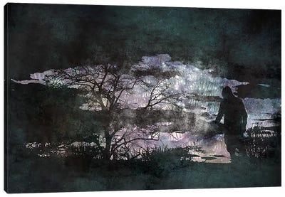 The Dark Side Canvas Print #ICA540