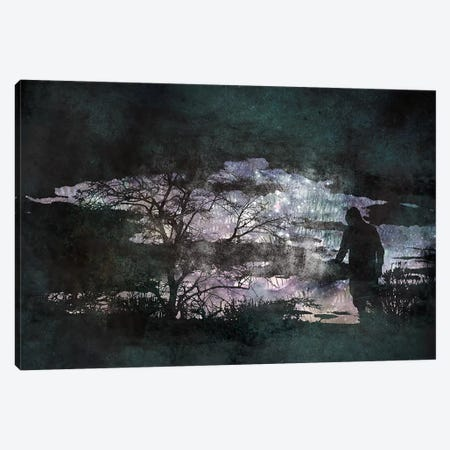 The Dark Side Canvas Print #ICA540} by 5by5collective Canvas Art Print
