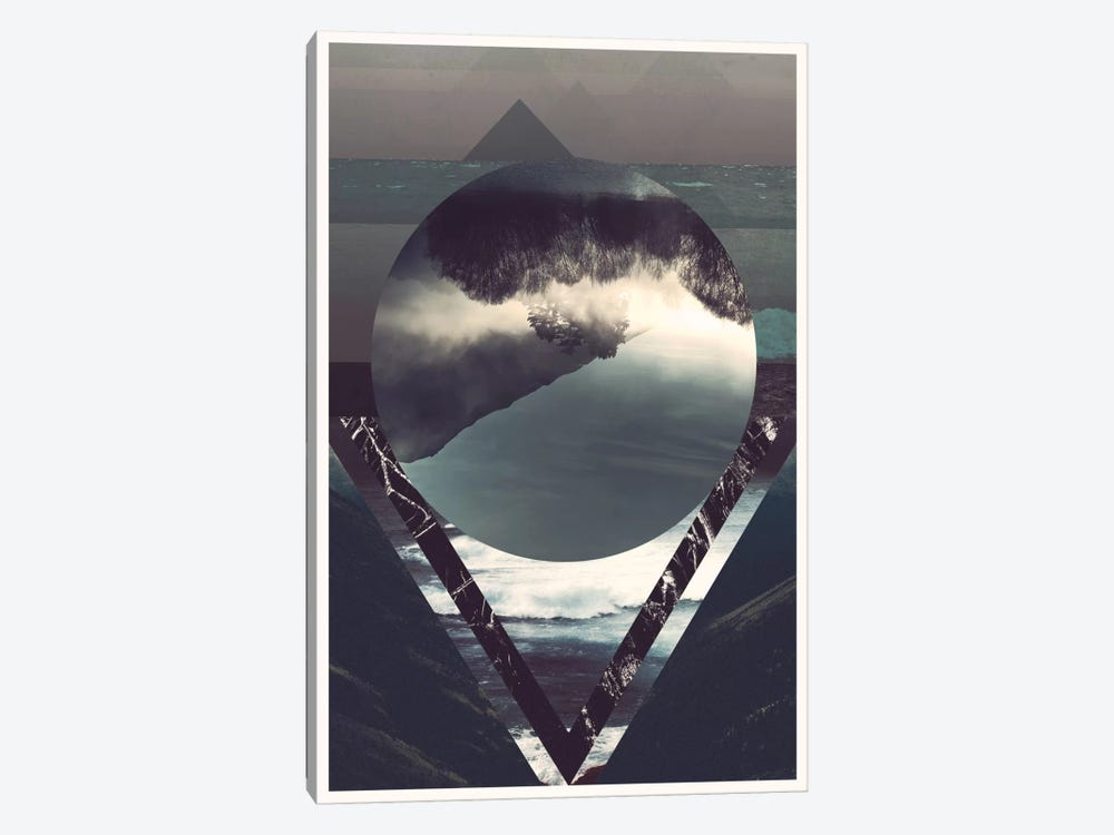 Twisted Horizons by 5by5collective 1-piece Canvas Art Print