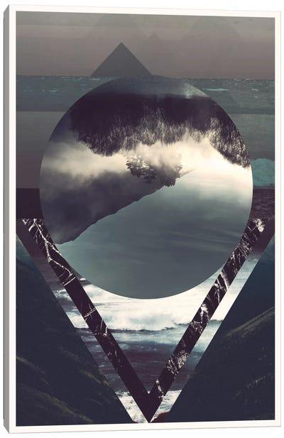 Twisted Horizons Canvas Art Print