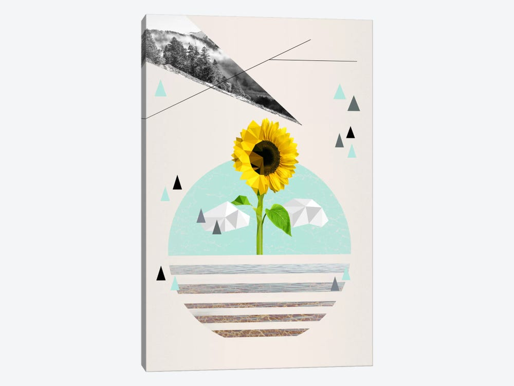 Uplifting Landscape by 5by5collective 1-piece Art Print