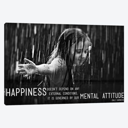 Happiness According to Carnegie Canvas Print #ICA54} by Unknown Artist Art Print