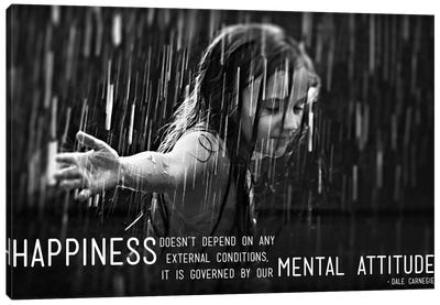 Happiness According to Carnegie Canvas Art Print
