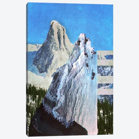 Peaks in Abstract Canvas Print #ICA552} by 5by5collective Canvas Artwork