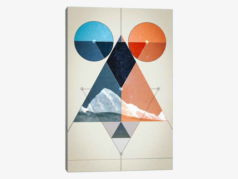 Multi Symmetry by 5by5collective 1-piece Art Print