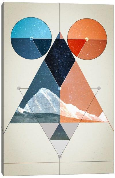 Multi Symmetry Canvas Art Print