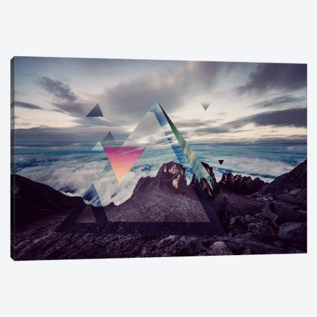 Tetragrammatons Peak Canvas Print #ICA557} by 5by5collective Art Print
