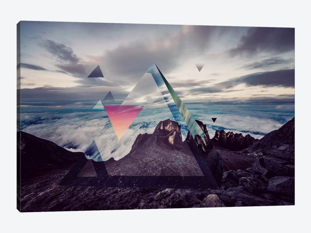 Tetragrammatons Peak by 5by5collective 1-piece Canvas Art