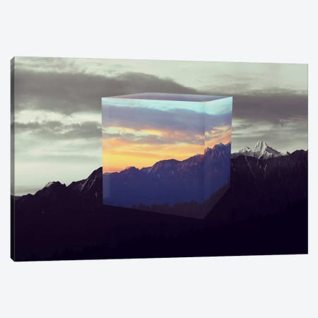 Tesseract of the Southern Alps Canvas Print #ICA561} by 5by5collective Art Print