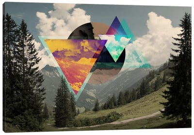 Tesseract of the Southern Alps Canvas Print #ICA562